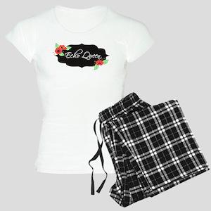 Echo Queen Poppies Women's Light Pajamas