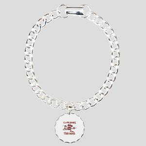 I love Annika Charm Bracelet, One Charm