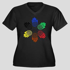 Celebrate Diversity Circle Plus Size T-Shirt
