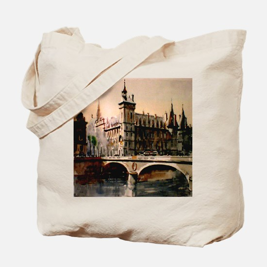 La Conciergerie, Paris, Franc Tote Bag