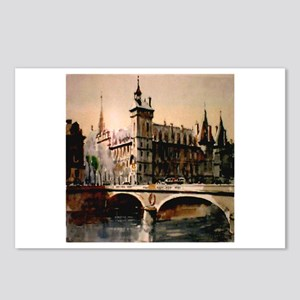 La Conciergerie, Paris, Franc Postcards (Package o