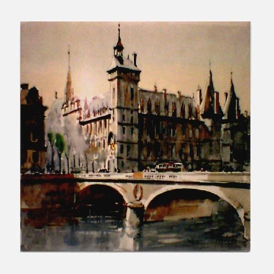 La Conciergerie, Paris, Franc Tile Coaster
