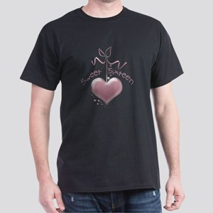 Sweet Sixteen Pink Heart Dark T-Shirt