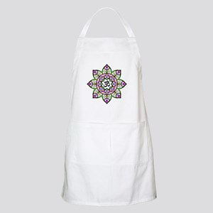 Lotus Om Black Apron