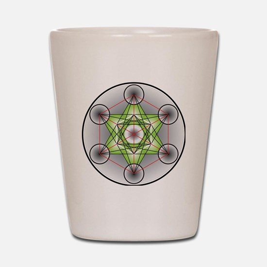 Metatron's Cube Shot Glass