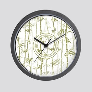Inspirational Tree Quote Wall Clock