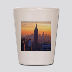 Empire State Building, NYC Skyline, Ora Shot Glass