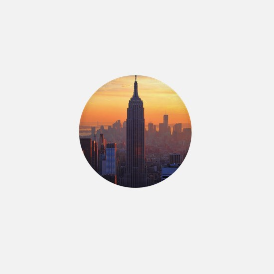 Empire State Building, NYC Skyline, Or Mini Button