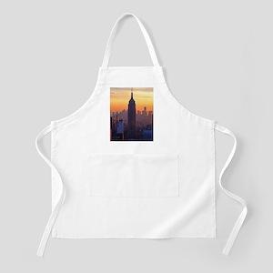 Empire State Building, NYC Skyline, Orange S Apron