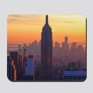 Empire State Building, NYC Skyline, Oran Mousepad