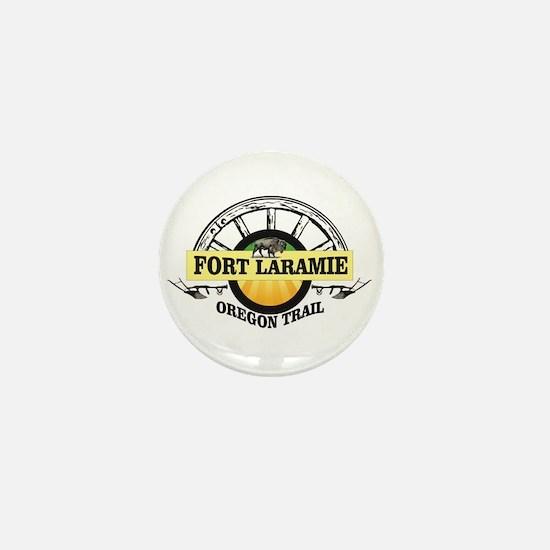fort laramie oregon trail st Mini Button (10 pack)