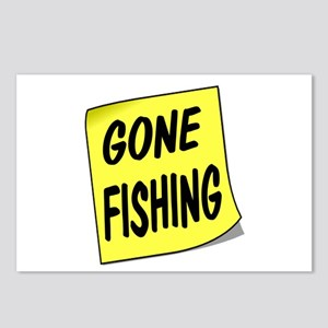 SIGN - FISHING Postcards (Package of 8)
