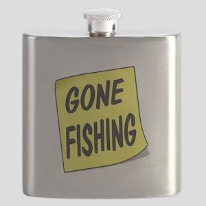 SIGN - FISHING Flask