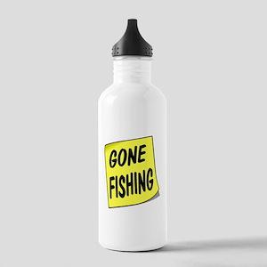SIGN - FISHING Water Bottle