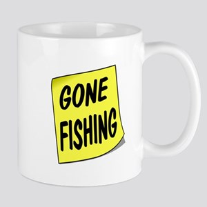 SIGN - FISHING Mugs
