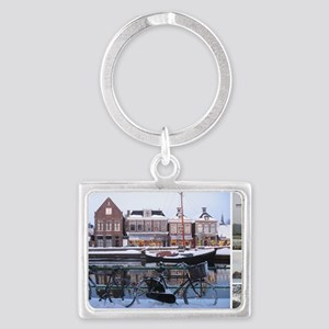January Landscape Keychain