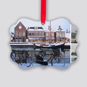 January Picture Ornament