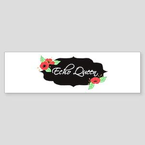 Echo Queen Poppies Sticker (Bumper)