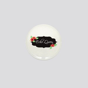 Echo Queen Poppies Mini Button
