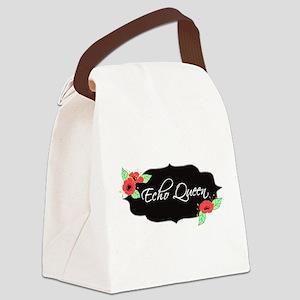 Echo Queen Poppies Canvas Lunch Bag