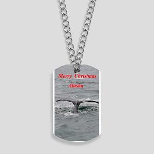 Humpback Whale Alaska Dog Tags