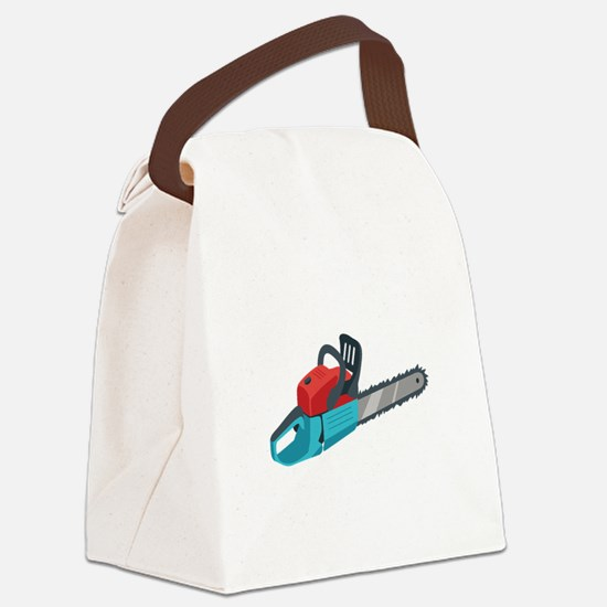 Chainsaw Canvas Lunch Bag