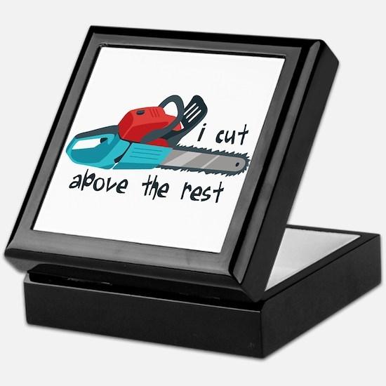 I Cut Above The Rest Keepsake Box