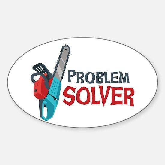 Problem Solver Decal