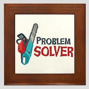 Problem Solver Framed Tile