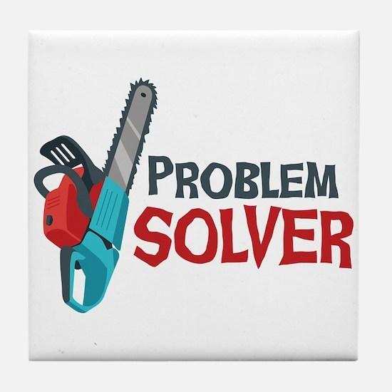 Problem Solver Tile Coaster