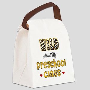 Wild about my Preschool Class Canvas Lunch Bag