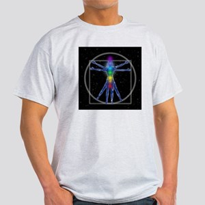 Vitruvian Spirit Woman Light T-Shirt