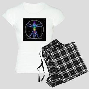 Vitruvian Spirit Woman Women's Light Pajamas