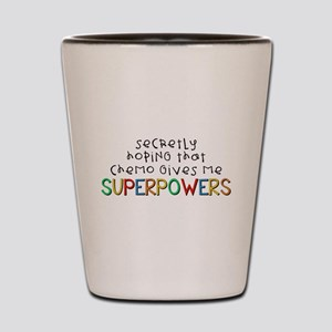 Superpowers Shot Glass