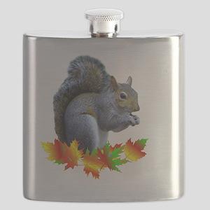 FALL SQUIRREL Flask