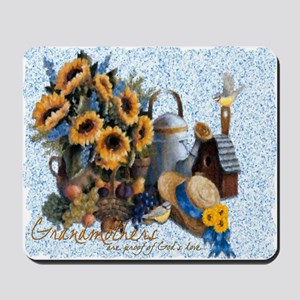 Grandmother's Sunflowers Mousepad