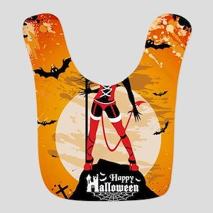 Halloween Vixen Bib