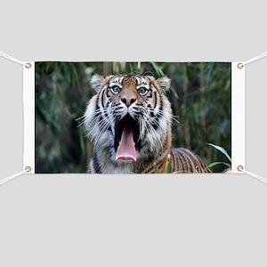 Love hunger Sumatran tiger Banner