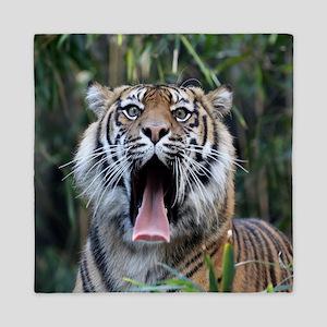 Love hunger Sumatran tiger Queen Duvet