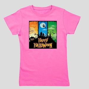Happy Halloween Girl's Tee