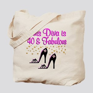 40TH HIGH HEEL Tote Bag