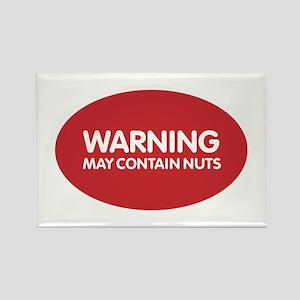 Warning May Contain Nuts Magnets