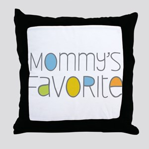 Mommy's Favorite Throw Pillow