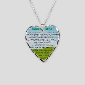 Friendship Necklace Heart Charm