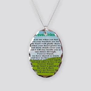 Friendship Necklace Oval Charm