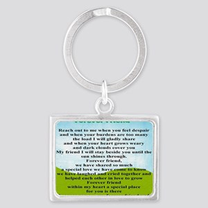 Friendship Landscape Keychain