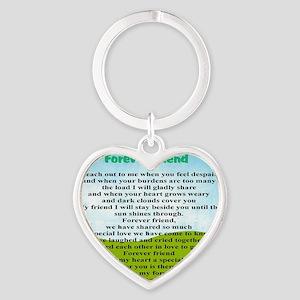 Friendship Heart Keychain