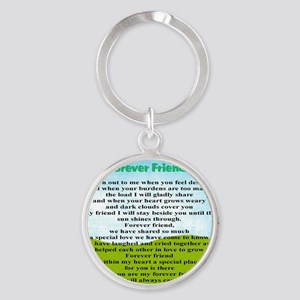 Friendship Round Keychain