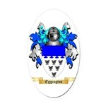Eggington Oval Car Magnet