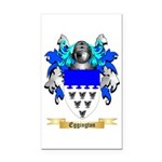 Eggington Rectangle Car Magnet